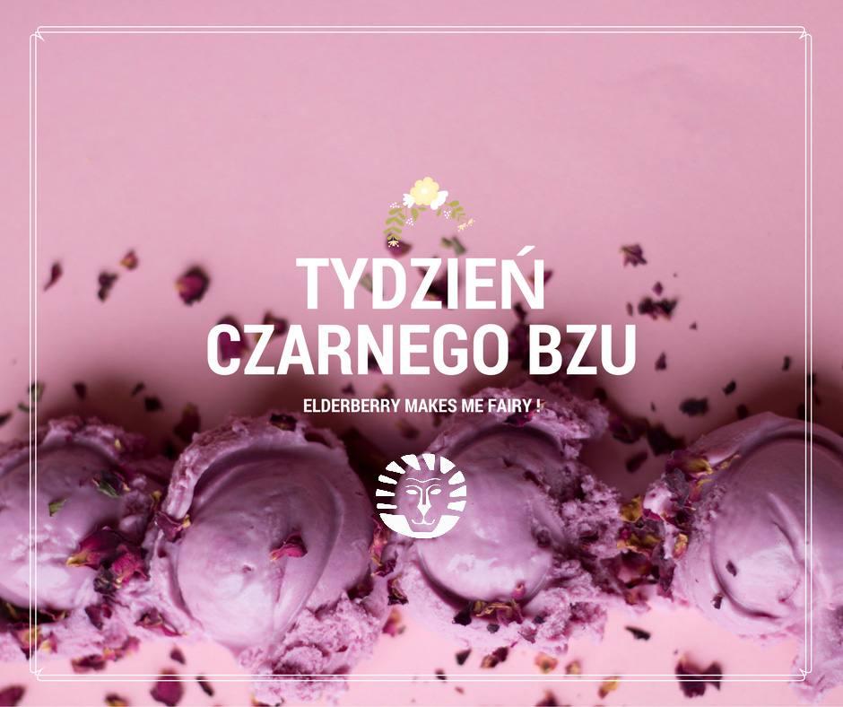 Deser z czarnego bzu - kawiarnia w Krakowie Słodki Wentzl