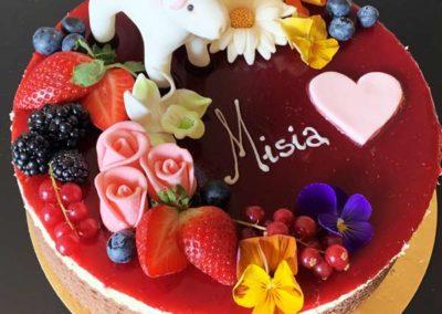Tort urodzinowy na zamówienie - cukiernia Słodki Wentzl Kraków