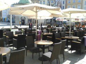 Kawiarnia Słodki Wentzl Cafe Kraków Main Square