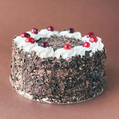 Tort na zamówienie Czarny_Las - cukiernia Kraków Słodki Wentzl