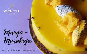Tort Mango Marakuja- cukiernia Słodki Wentzl Kraków