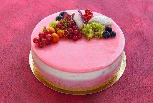 Tort Jogurtowy - tort na zamówienie - cukiernia Kraków Słodki Wentzl