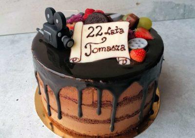 Tort urodzinowy na specjalne zamówienie - cukiernia Słodki Wentzl Kraków
