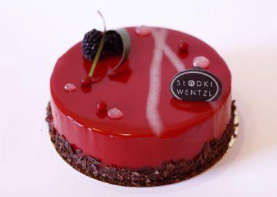 Tort Cherry na zamówienie - cukiernia Kraków Słodki Wentzl