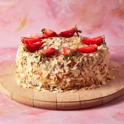 Tort na zamówienie Karmelowy - cukiernia Słodki Wentzl Kraków